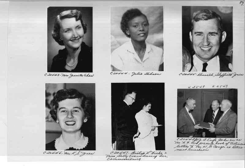Mission Photograph Album - Portraits #09 Page 0089