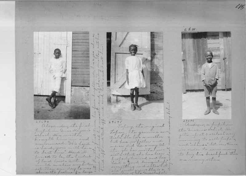 Mission Photograph Album - Panama #02 page 0115