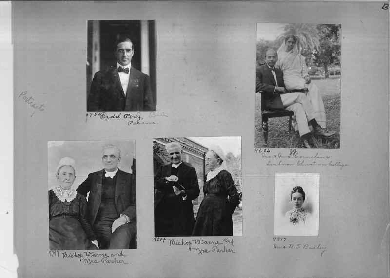 Mission Photograph Album - Portraits #1 page 0013
