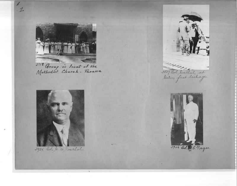 Mission Photograph Album - Panama #1 page  0002