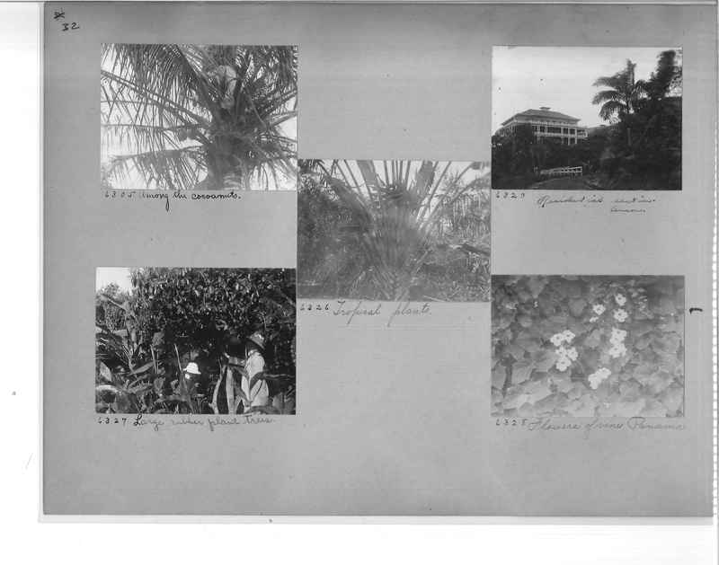 Mission Photograph Album - Panama #1 page  0032