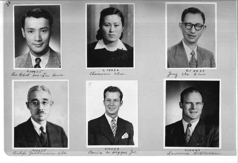 Mission Photograph Album - Portraits #07 Page 0036