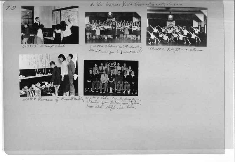 Mission Photograph Album - Japan #07 Page 0020