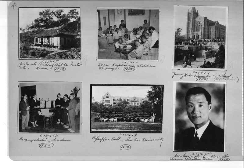 Mission Photograph Album - Korea #6 page 0070