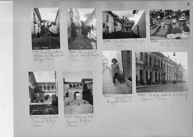 Misson Photograph Album - South America #8 page 0009