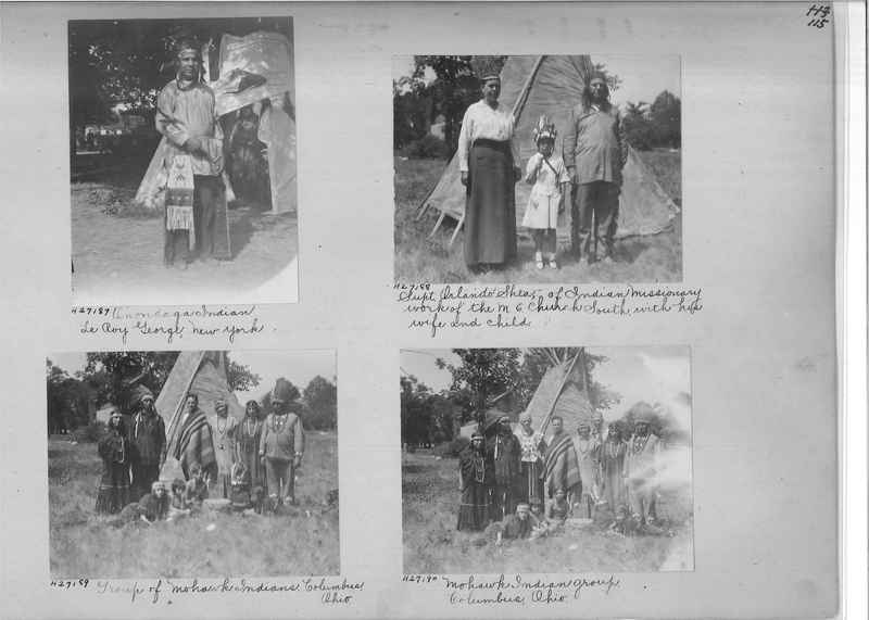 Mission Photograph Album - Indians #2 page_0115