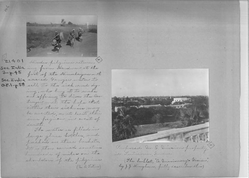 Mission Photograph Album - India - O.P. #02 Page 0126