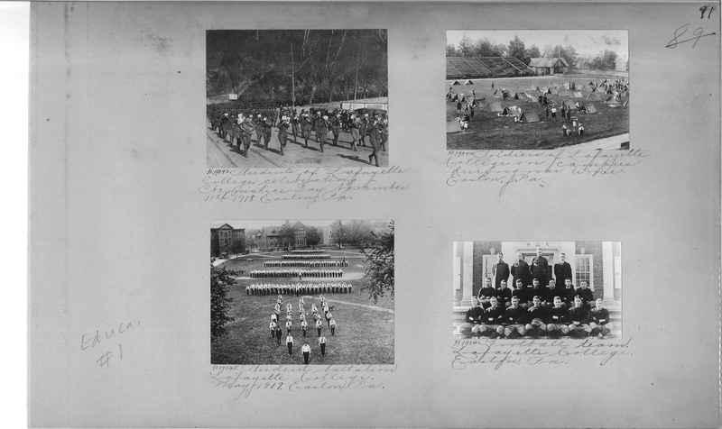 Mission Photograph Album - Education #1 page 0091