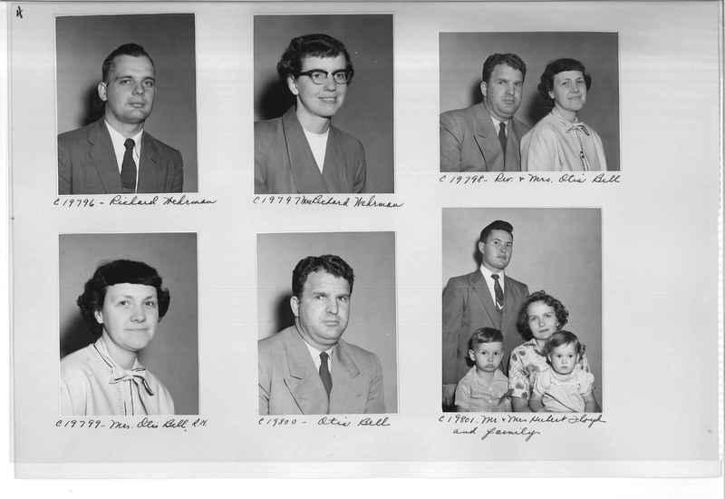 Mission Photograph Album - Portraits #09 Page 0004