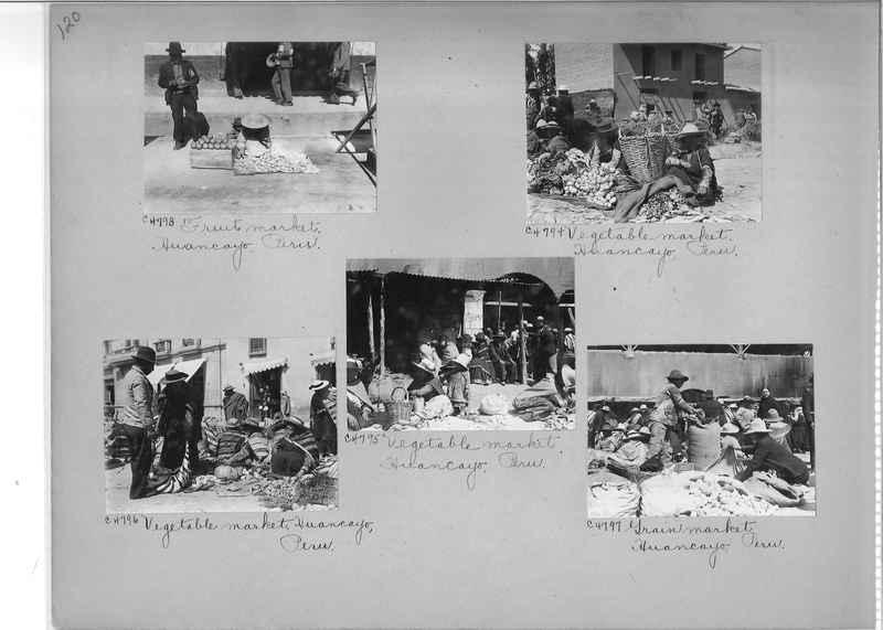 Misson Photograph Album - South America #8 page 0120