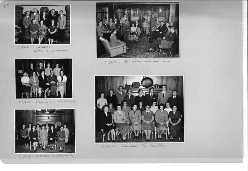 Mission Photograph Album - Portraits #13 Page 0050
