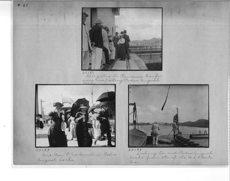 Mission Photograph Album - Panama #1 page  0086