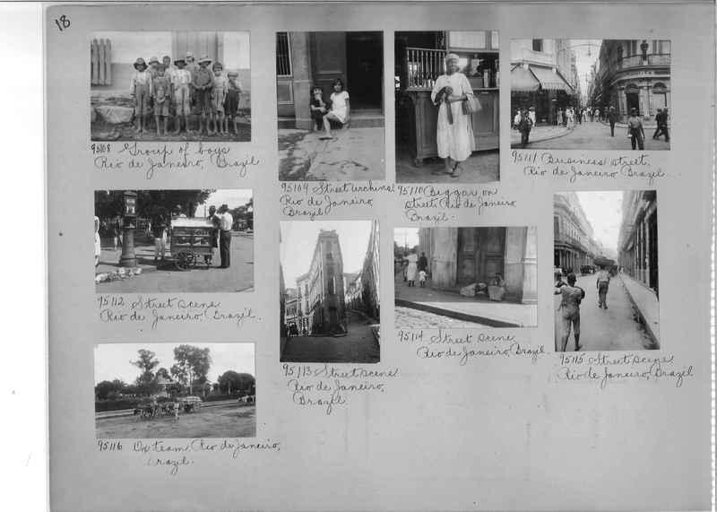 Misson Photograph Album - South America #8 page 0018