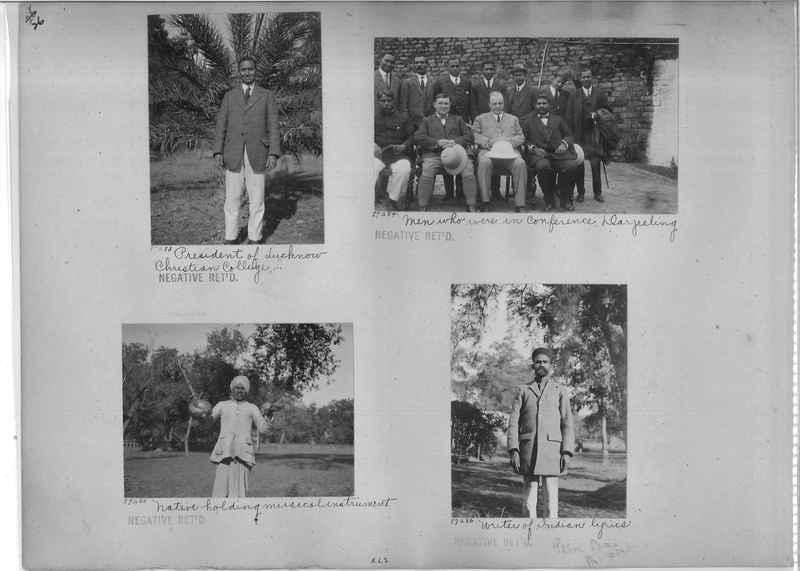 Mission Photograph Album - India #10 Page 0026