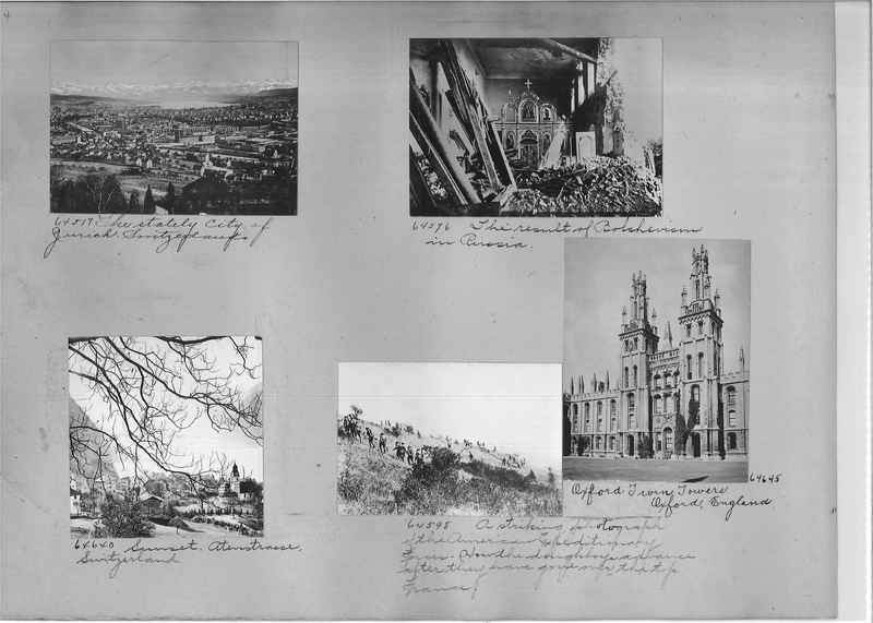 Mission Photograph Album - Europe #05 Page 0004