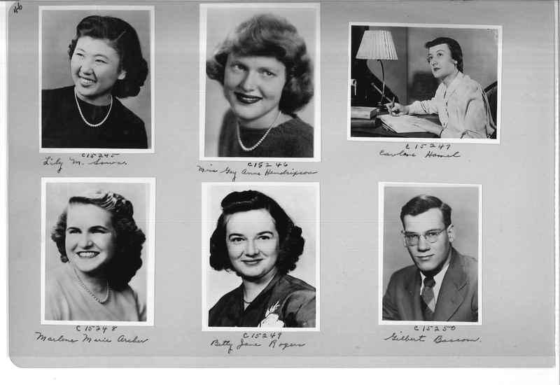 Mission Photograph Album - Portraits #07 Page 0046