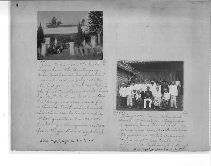 Mission Photograph Album - Malaysia O.P. #1 page 0004