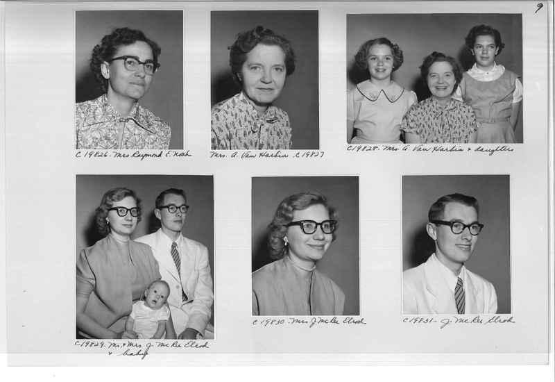Mission Photograph Album - Portraits #09 Page 0009
