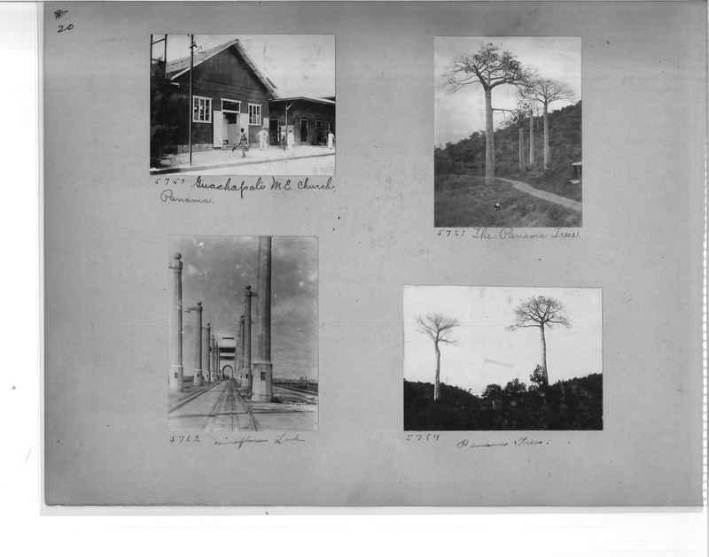 Mission Photograph Album - Panama #1 page  0020