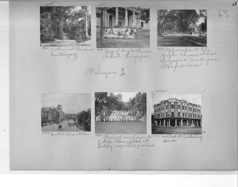 Mission Photograph Album - Malaysia #1 page 0063