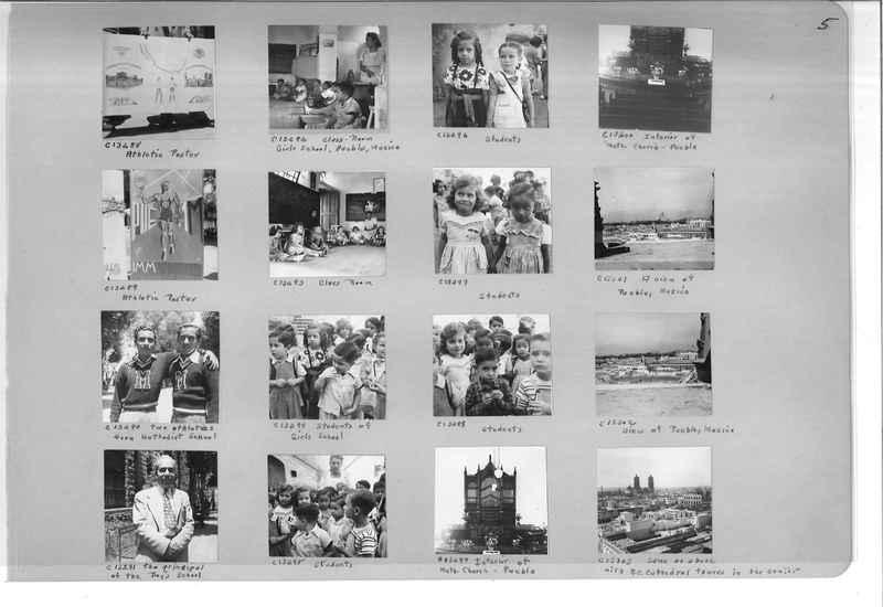 Mission Photograph Album - Mexico #09 Page 0005