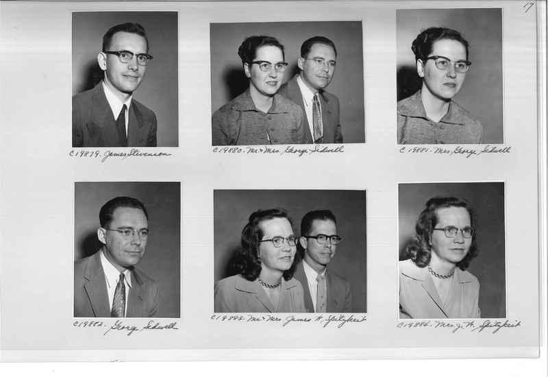 Mission Photograph Album - Portraits #09 Page 0017