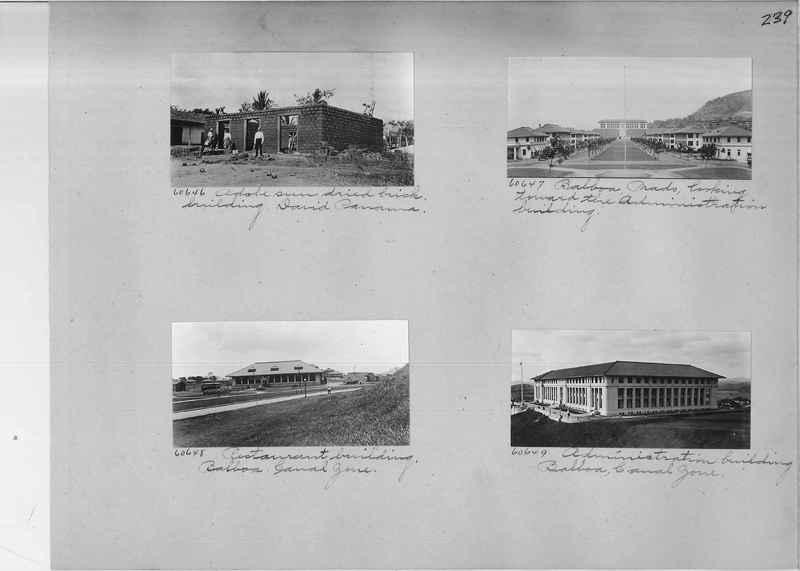 Mission Photograph Album - Panama #02 page 0239