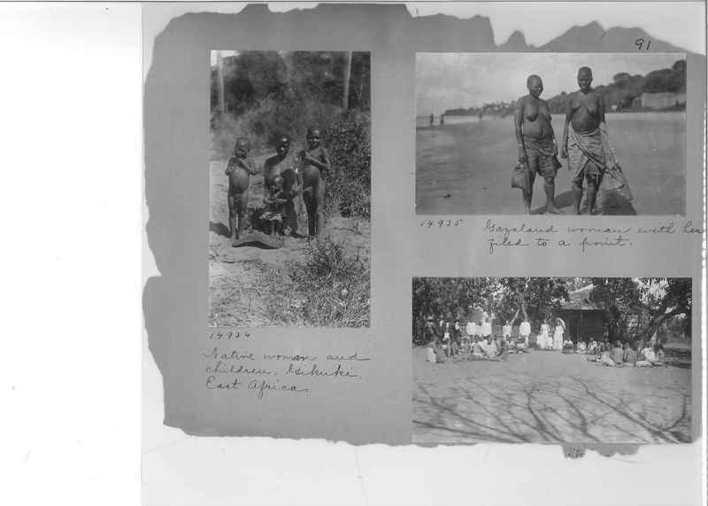 Mission Photograph Album - Africa #2 page 0091