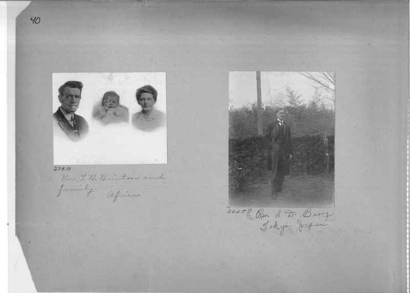 Mission Photograph Album - Portraits #1 page 0040