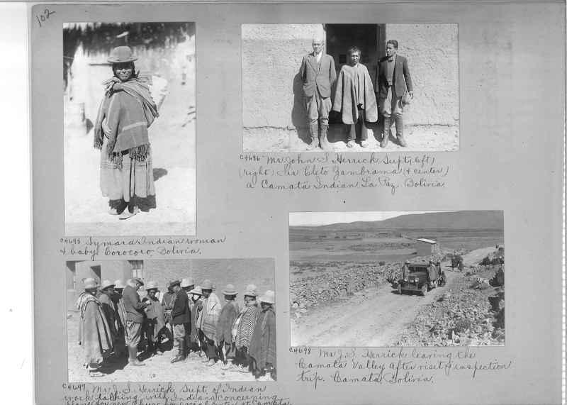 Misson Photograph Album - South America #8 page 0102