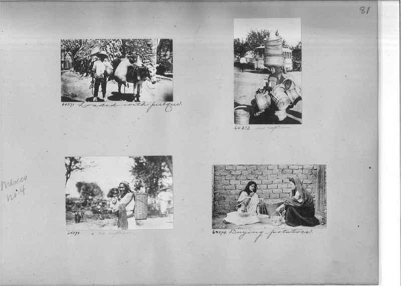 Mission Photograph Album - Mexico #04 page 0081