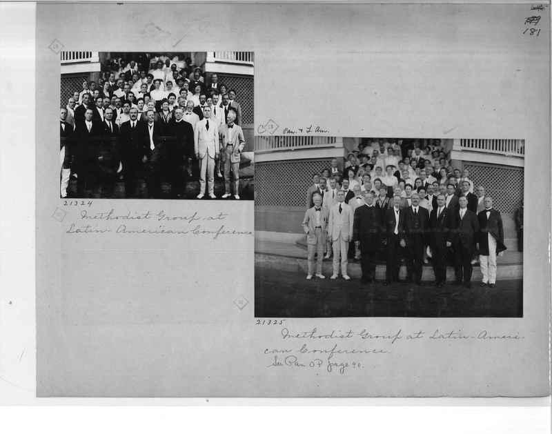Mission Photograph Album - Panama #1 page  0181