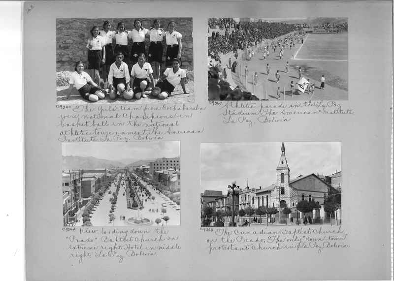 Misson Photograph Album - South America #8 page 0160