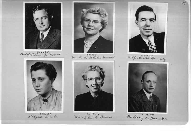 Mission Photograph Album - Portraits #07 Page 0027