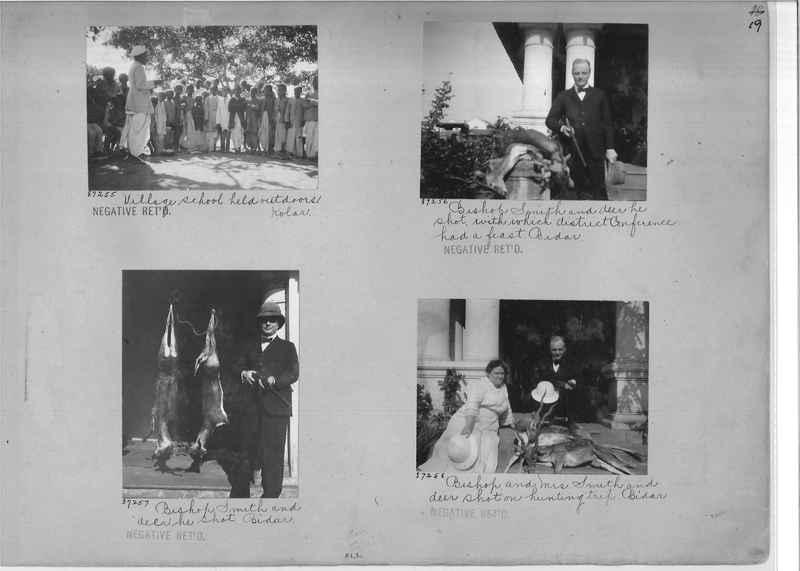 Mission Photograph Album - India #10 Page 0019
