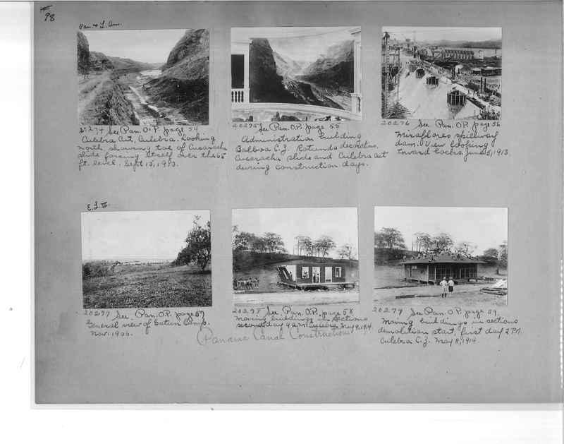 Mission Photograph Album - Panama #1 page  0098