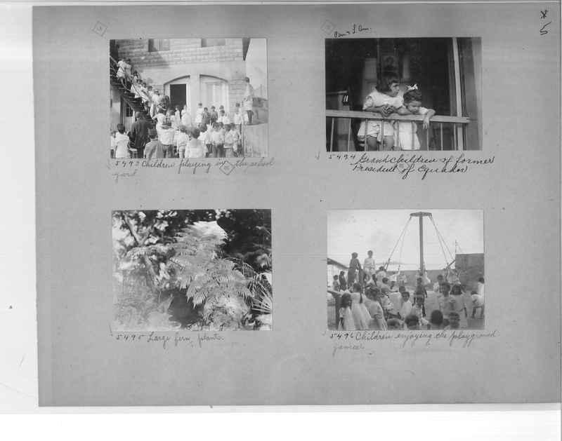 Mission Photograph Album - Panama #1 page  0005