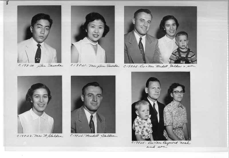 Mission Photograph Album - Portraits #09 Page 0008