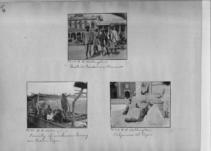 Mission Photograph Album - India - O.P. #02 Page 0058