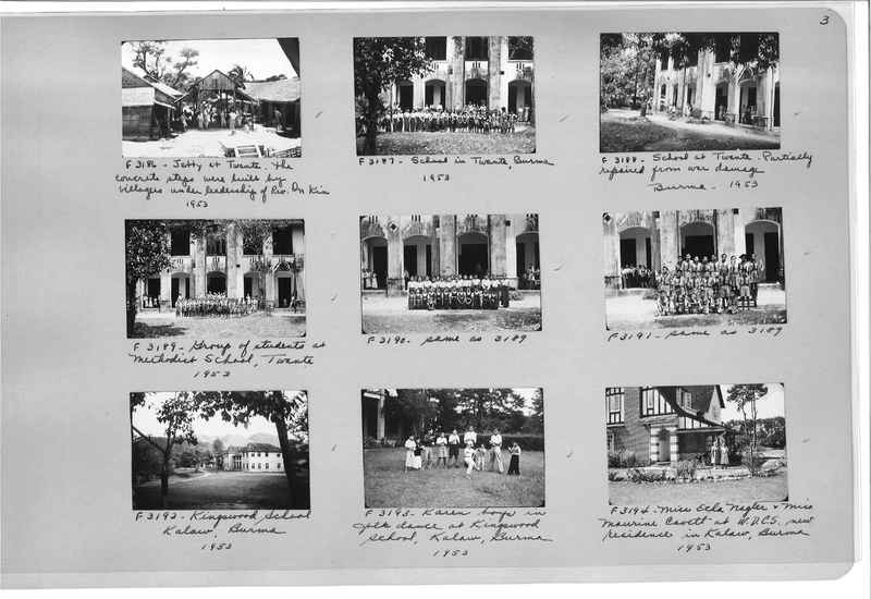 Mission Photograph Album - Burma #3 page 0003
