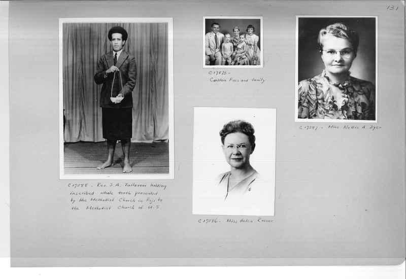 Mission Photograph Album - Portraits #07 Page 0131