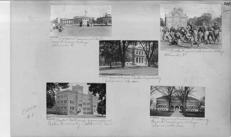 Mission Photograph Album - Education #1 page 0225