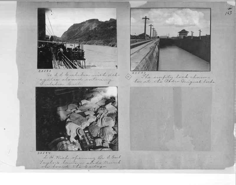 Mission Photograph Album - Panama #1 page  0163