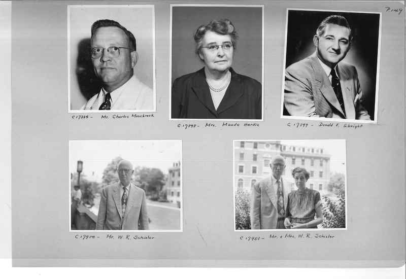 Mission Photograph Album - Portraits #07 Page 0149