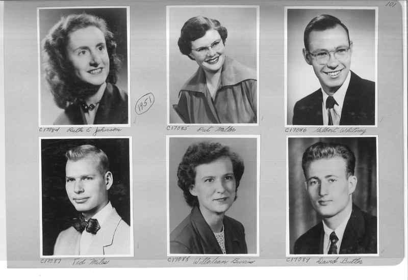 Mission Photograph Album - Portraits #07 Page 0101