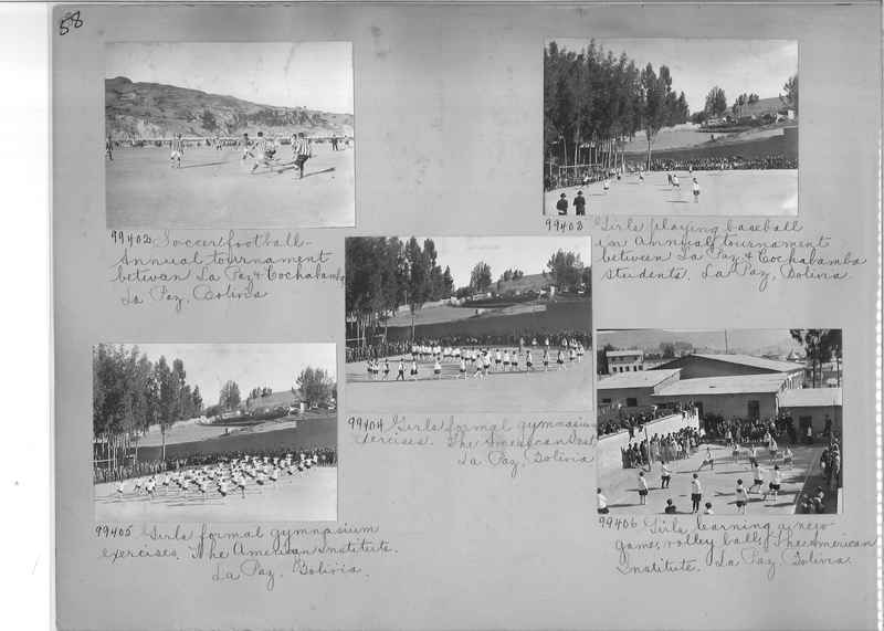 Misson Photograph Album - South America #8 page 0058
