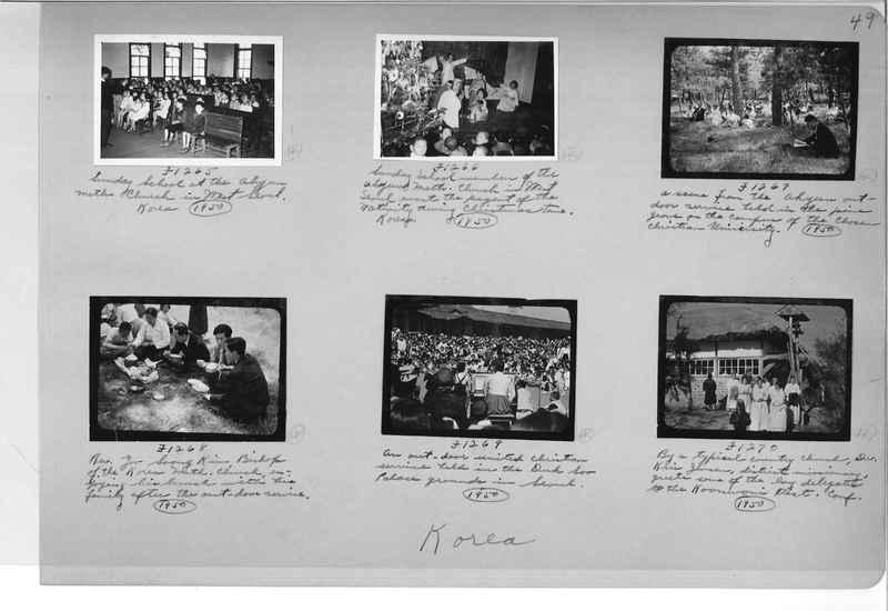 Mission Photograph Album - Korea #6 page 0049