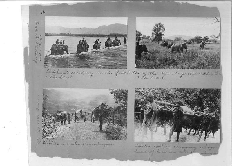 Mission Photograph Album - India - O.P. #02 Page 0016