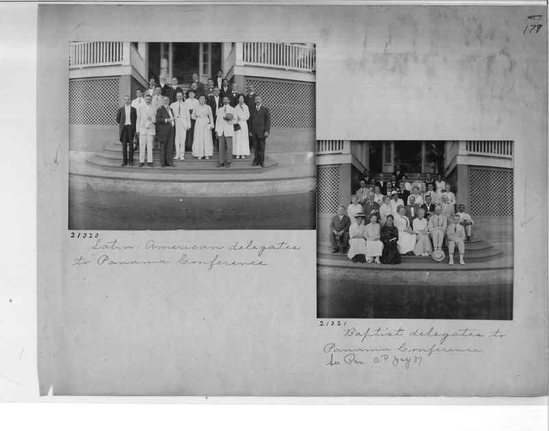 Mission Photograph Album - Panama #1 page  0179