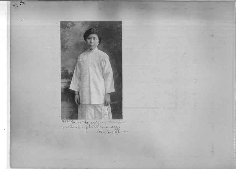 Mission Photograph Album - Portraits #3 page 0084